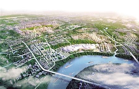 空港新城规划图-空港新城新建7条道路 看看经过你家吗