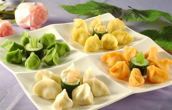 饺子的包法步骤图解 三角