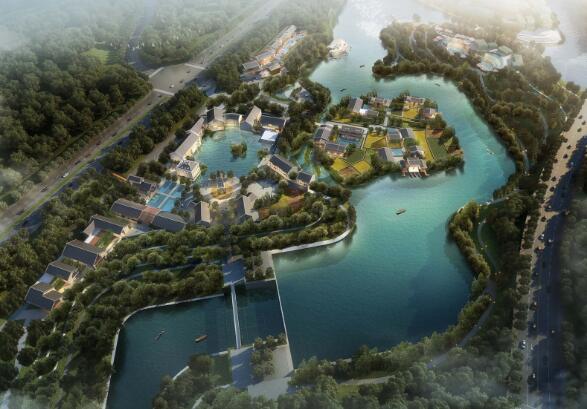 御景栖岸项目概念方案设计图
