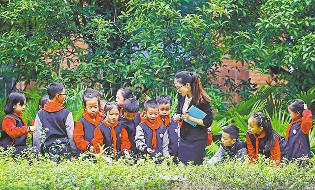两江新区星湖学校开设儿童哲学启蒙课
