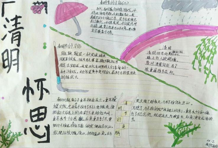 两江新区校园掀起文明祭祀新风尚图片